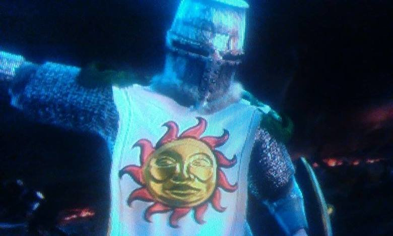 Solaire SC5. So I made Solaire in Soul Caliber 5.