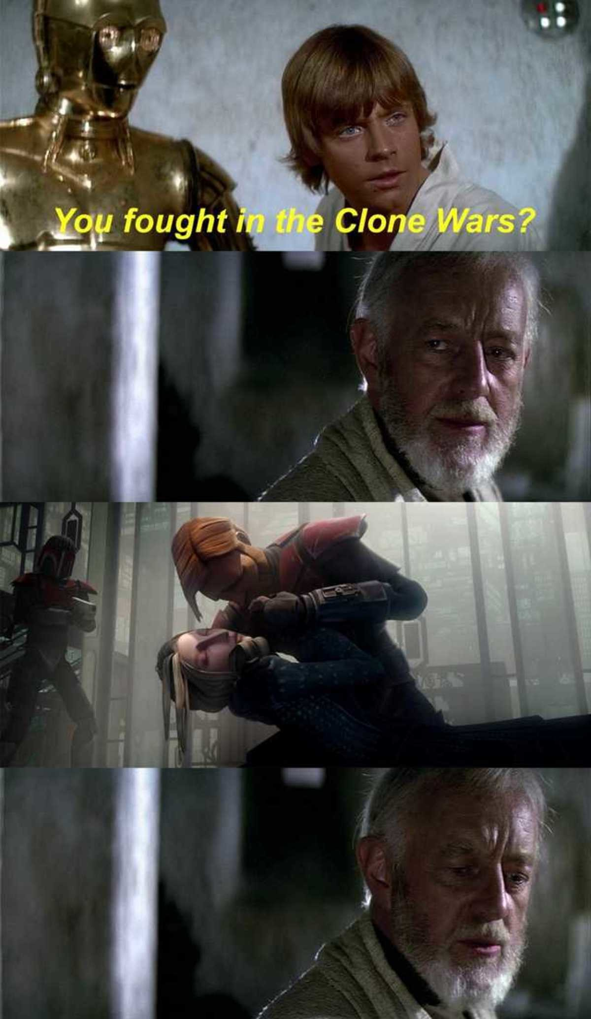Some Wounds Never Heal. .. My feels just used the high ground on me.