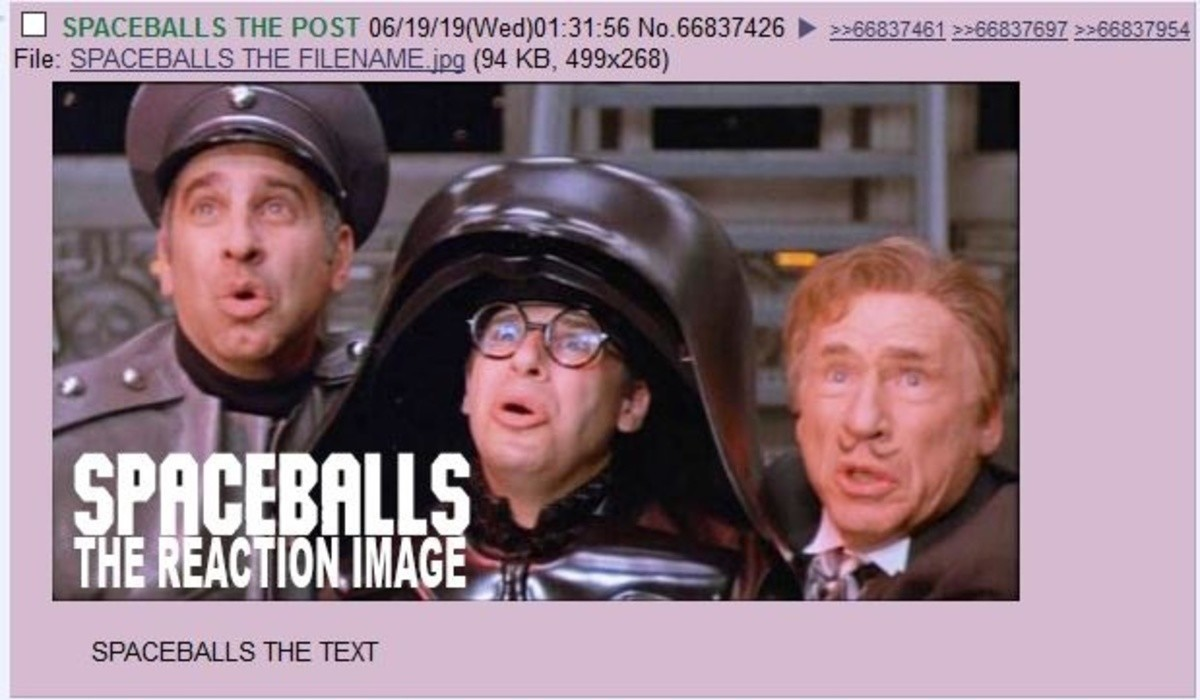"SPACEBALLS THE REPOST. SPACEBALLS THE CAPTION.. sirboneless used ""roll 1, 00-99""sirboneless rolls 77 SPACEBALLS THE DUBS"