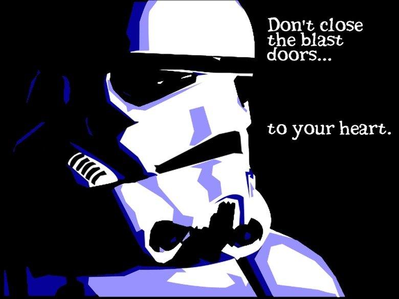 star wars valentine. . Don' t close doors...