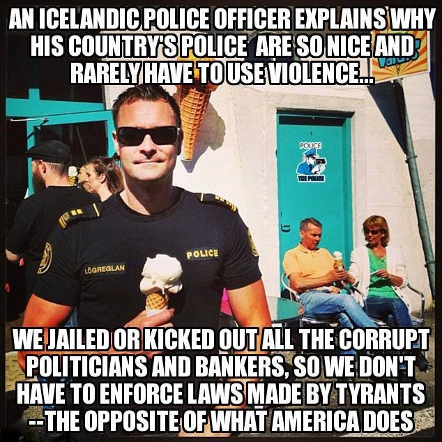 Stop breaking the law. .. the lack of black people also helps, I hear