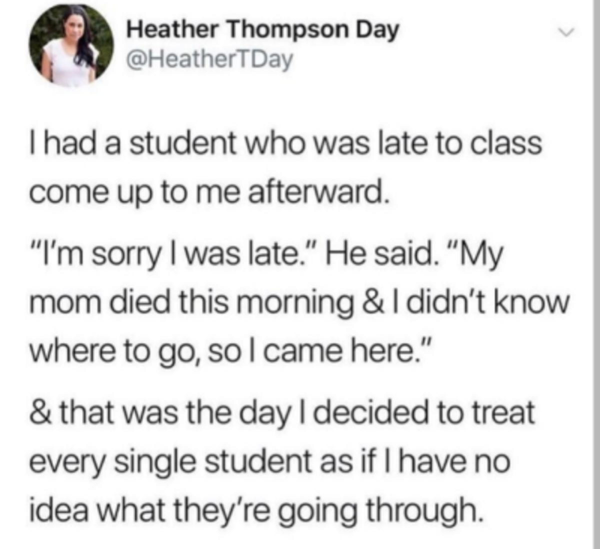 Student. .. I recall in High school, a friend of mine abroad overdozed and was found dead. It was a pretty major shock going from youtube PMs with bad grammer to this super