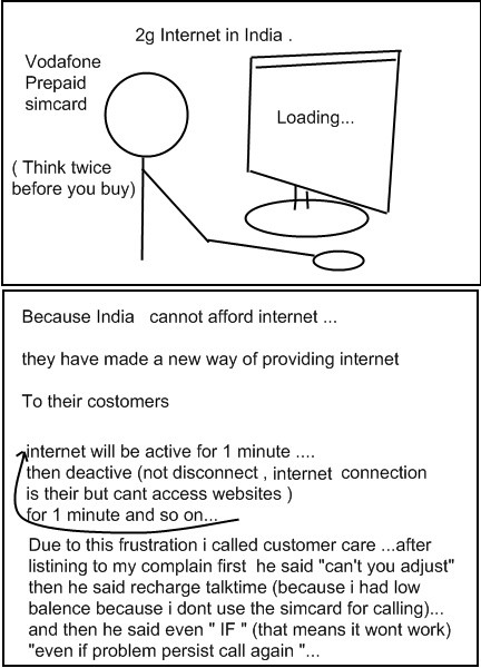 Taste Of India ( Vodafone internet ). . Internet in India . i Think twice refere you buy) Because India cannot afford internet Meq they have made a new way of p