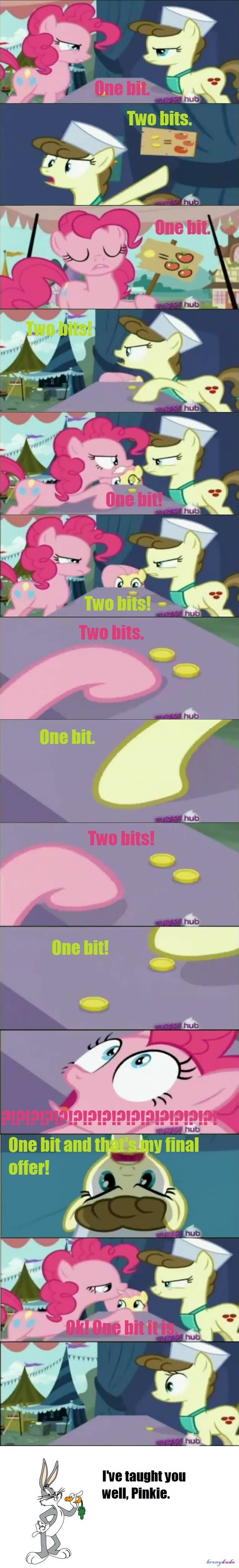 Teach Me Your Trolling Ways Pinkie. Pinkie Pie learned of her ways from the legend of trolling. True Story... < 8 bits!