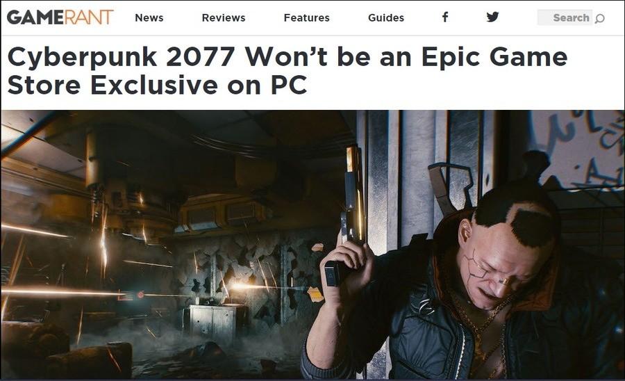 Thank God. https://gamerant.com/cyberpunk-2077-epic-pc/ https://gamerant.com/cyberpunk-2077-epic-pc/.. Doesn't CDPR have gog?