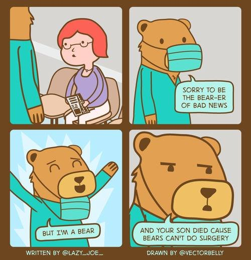 the pain will be un-bearable!. not sure if posted before. SORRT we was BEERIER I or BAD NEWS AND TOUR sow DIED CAUSE BEARS CAN' T no SURGERY. And it's got TNT in it.