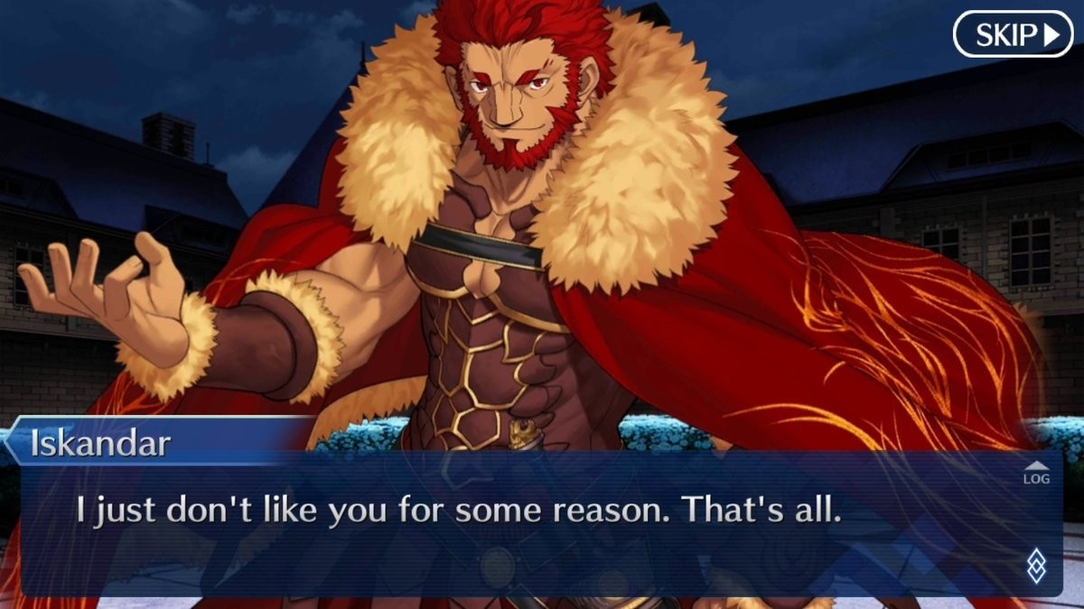 The Reason Why You Won't Get Iskandar. join list: Fate (413 subs)Mention History. Lffc, ajust don' t like you for some reason. That' s all.. i spent 5 tickets trying to get him, all i'm gonna give. I didn't get him, but at least i got kiritsugu, its something. Im saving up for the swimsuit waifus &lt