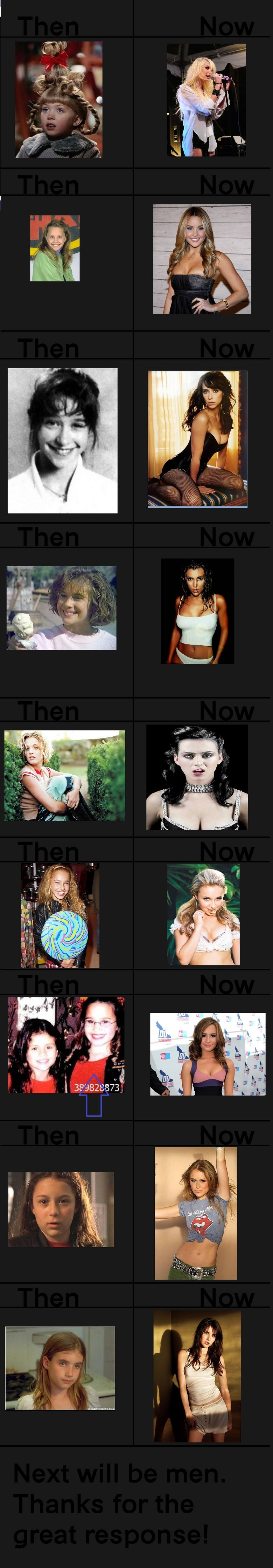 """Then and Now 3. Next will be men. Enjoy ^^<br /> <a href=""""pictures/1506683/Then+and+Now+Females/"""" target=blank>funnyjunk.com/funnypictures"""