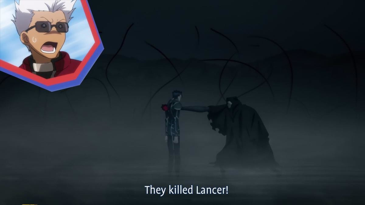They Killed Lancer. .. My favorite running joke.