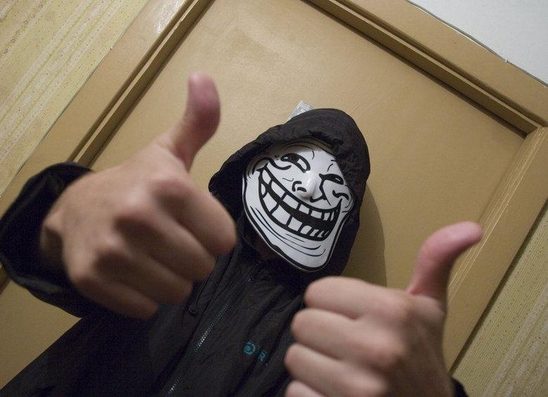 Trollface mask. Trollface masks on trollface-mask.com.