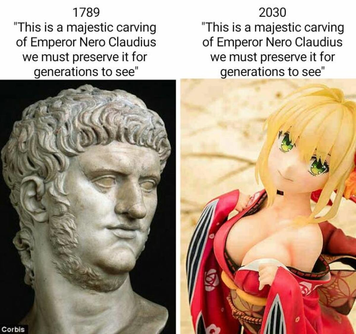 Truly Nothing Has Changed. join list: BewbDudes (2578 subs)Mention History join list:. Huh. So Nero was a neckbeard. Guess he is living the dream in his new form.