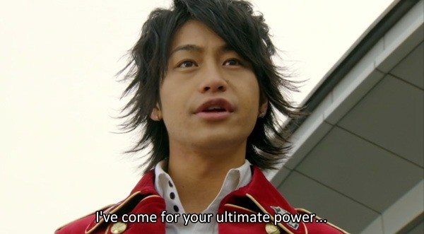 Ultimate power. .. Kamen Rider x Super Sentai: Super Hero Taisen