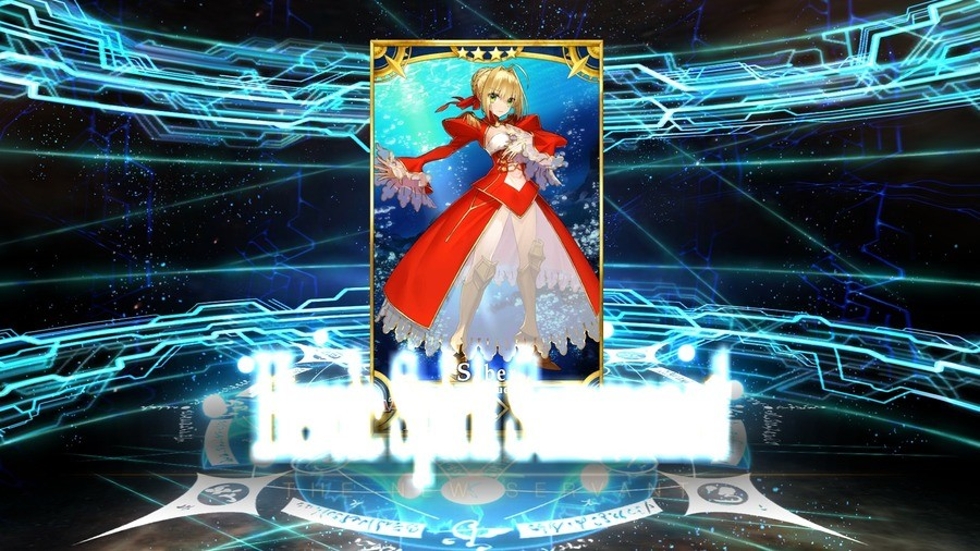 Umu!. Yeeees! I just summoned Nero! I was really hoping for her or Bride Nero from this pool. (my phone's screenshot was acting up, like it always does... good