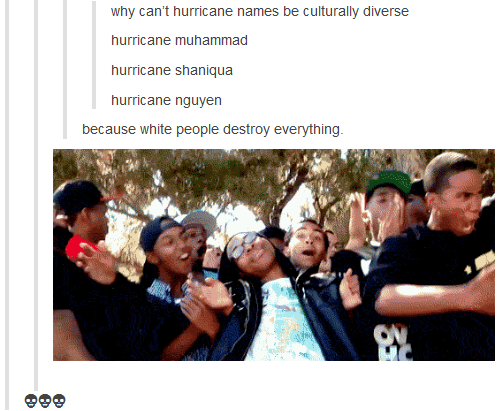 (untitled). a lion ain't gonna steal your car. why can' t hurricane names he culturally diverse hurricane muhammads hurricane shaniqua hurricane nguyen because