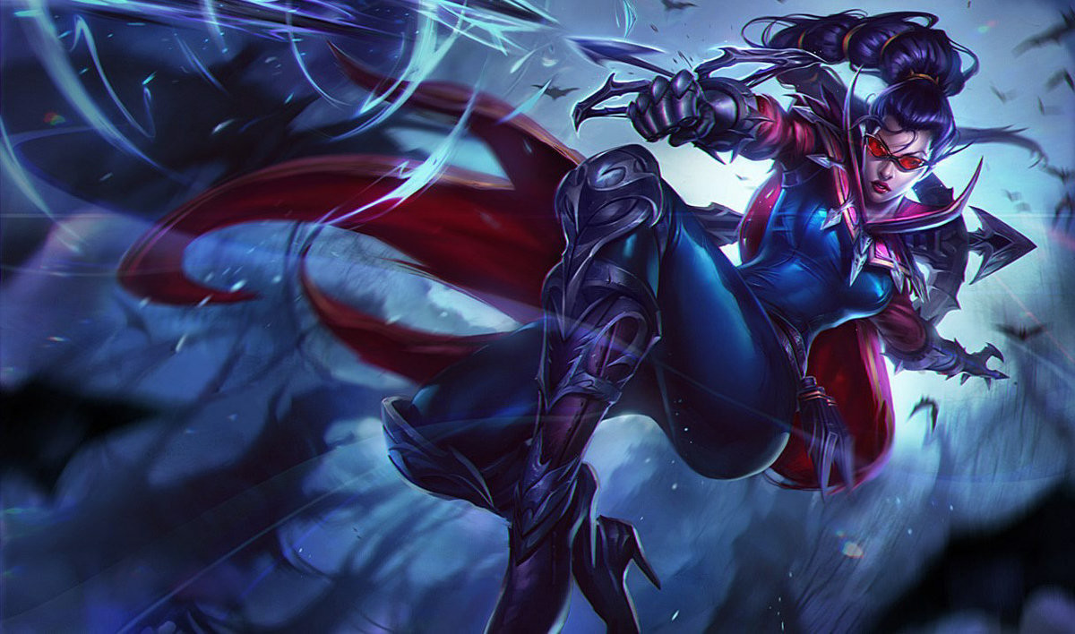 Vayne. .. That's not fan art though... That's the official art from RiotComment edited at .