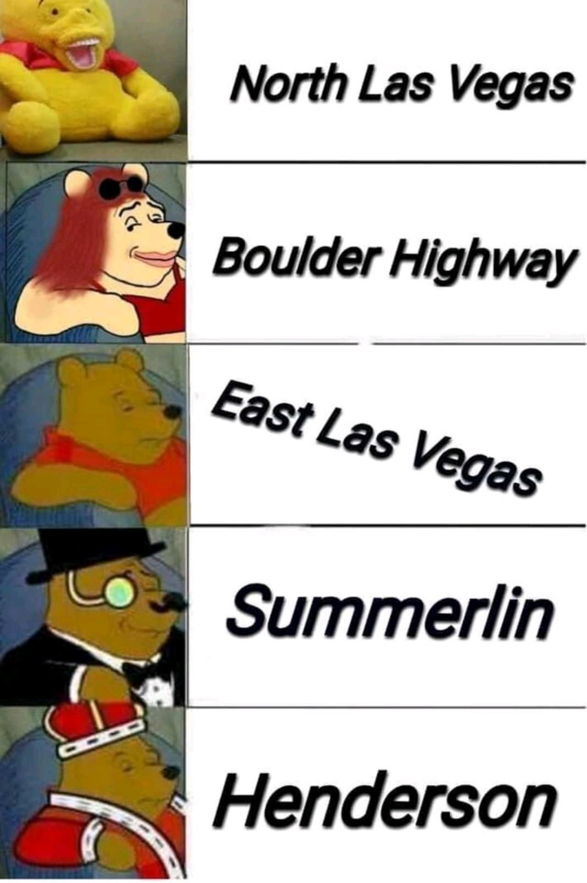 Vegas meme 2. I personally live in east las vegas.. It's not wrong