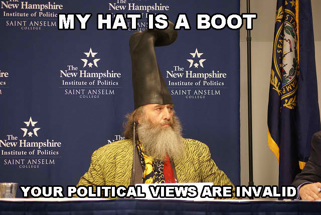 Vermin Supreme. front page sweet thanks evrypony. Hampshire New The Jer The Jer ire New Hampshire New Hampshire its Institute Irt. statute of Politics The Tsta'