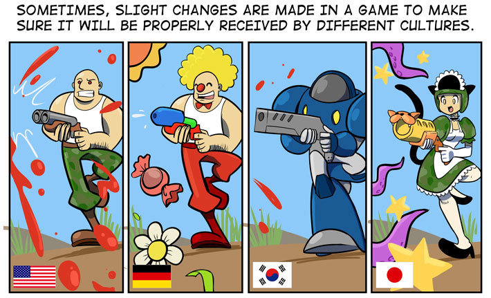 Video Games from Different Countries. Video Games from Different Countries countries different from games video games video from different countries. SOMETIMES.