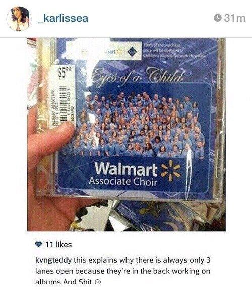 Walmart Choir