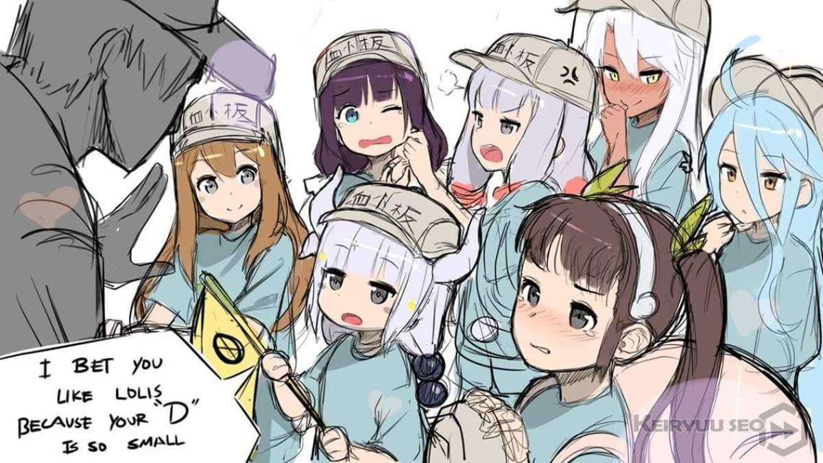 Well SmolHol?. join list: Lewds4DHeart (1588 subs)Mention History join list:. They're all fine. Kanna's a miniature hoe anyway. but don't you dare lewd the platelets. Those are toddlers