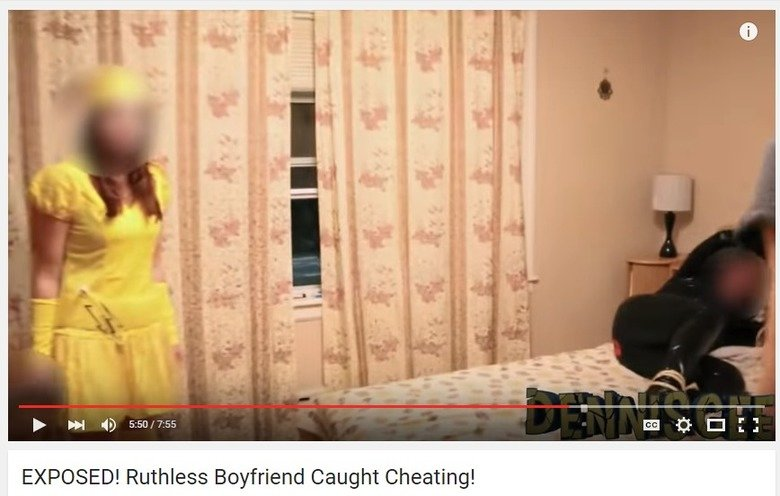 What. She's dressed as Pikachu. Source: . tif EXPOSED! Ruthless Boyfriend Caught Cheating!. He's real?