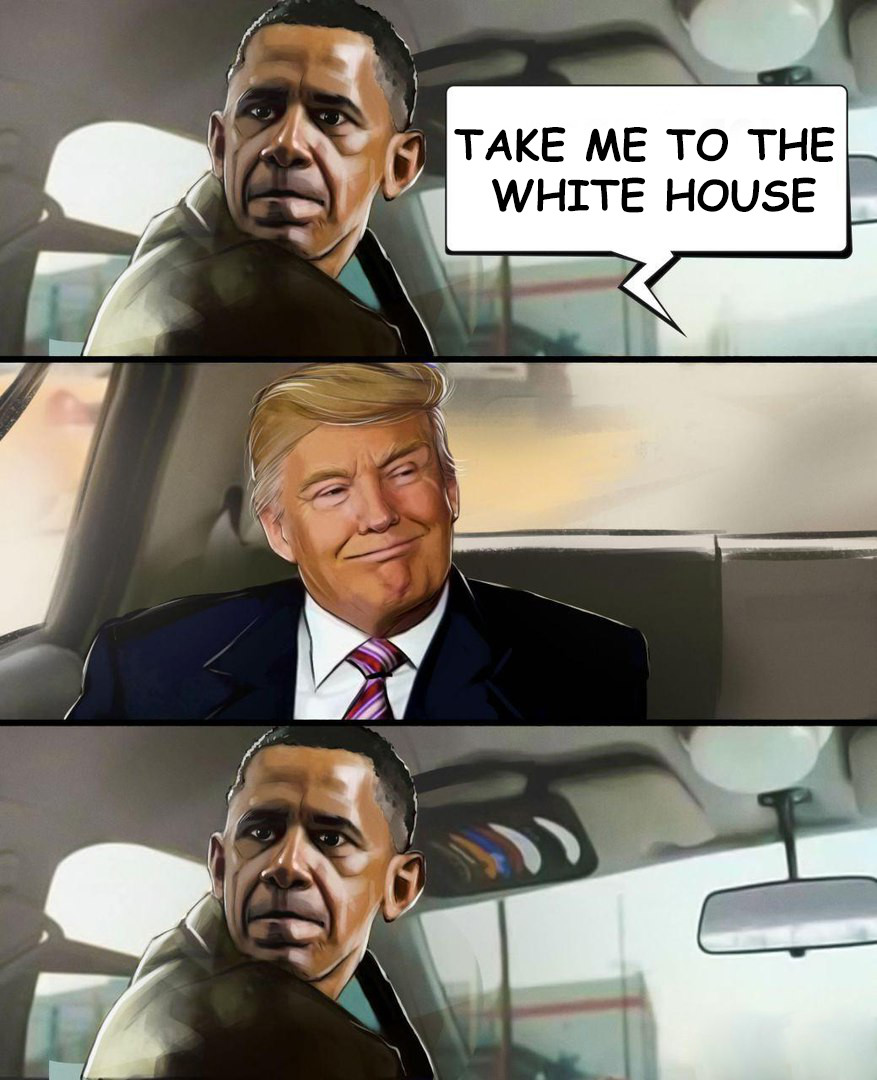 White House. .. Obama... You're fired.