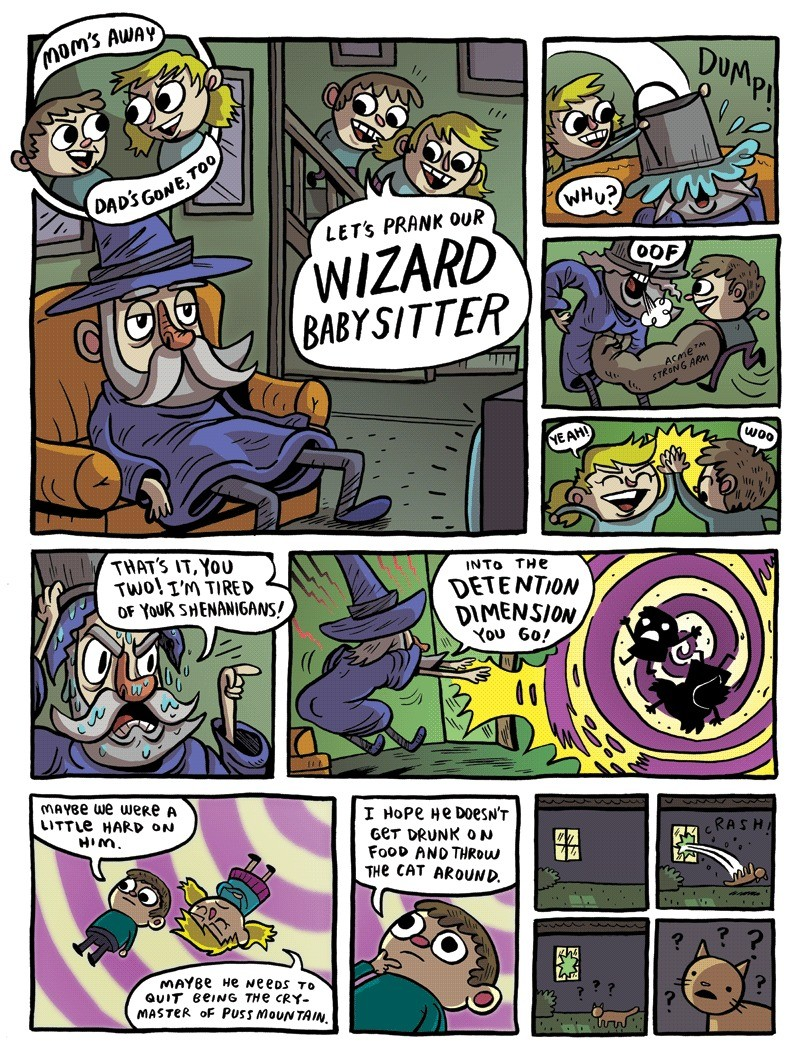Wizard Babysitter. join list: DnDStuff (1186 subs)Mention History.. I see potential for this one.
