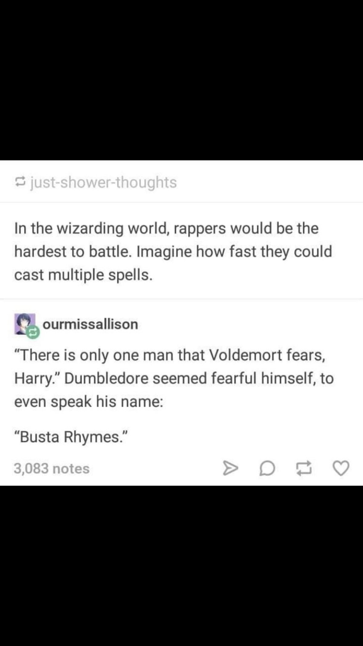 Wizards. .. Soooo mumble rappers would be a viable threat do to the fact you wouldn't know what spell they're casting.