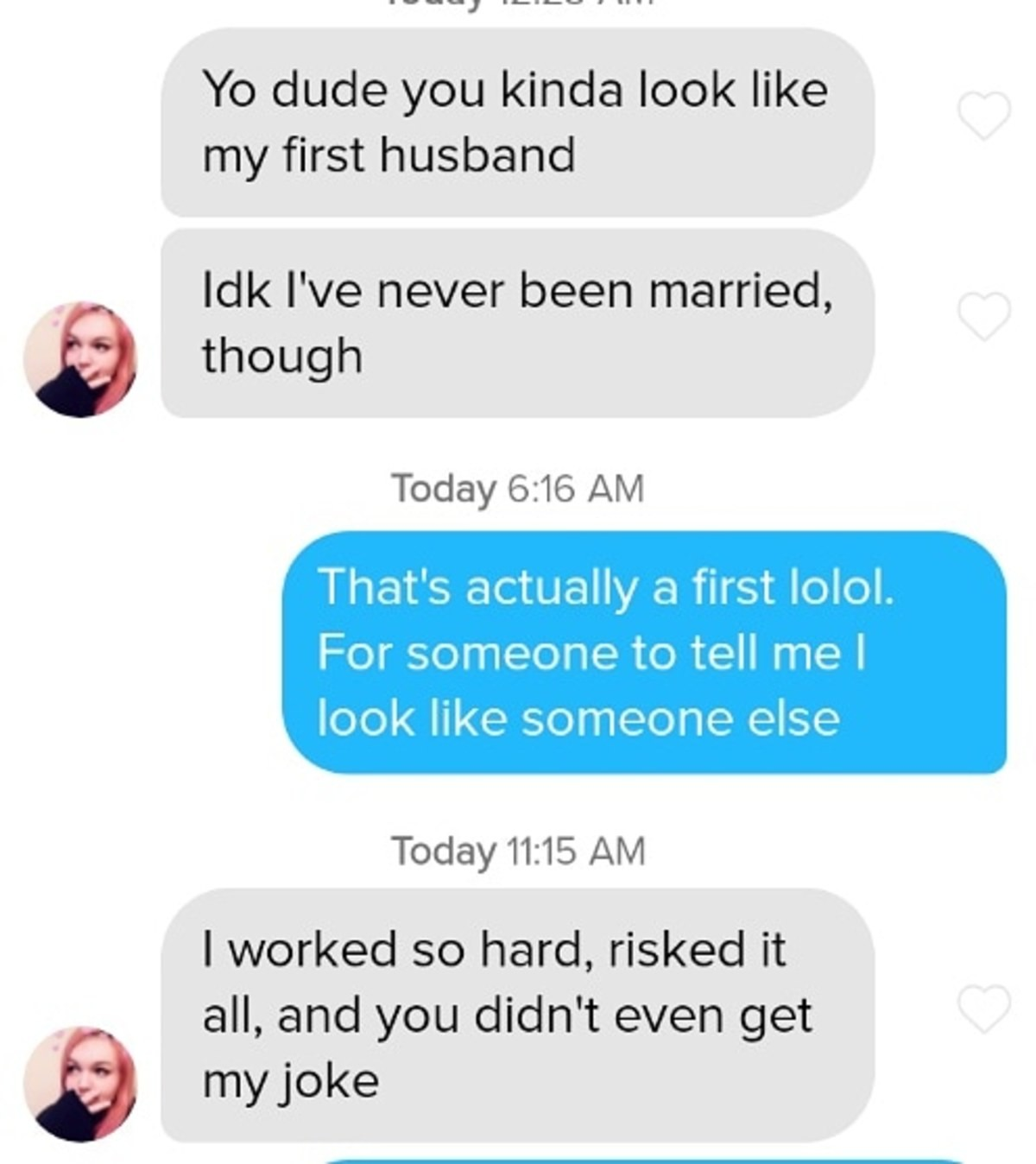 Wooosh. .. I mean a lot of guys have their brain set to assume girls never flirt with them so they dont make a fool of myself