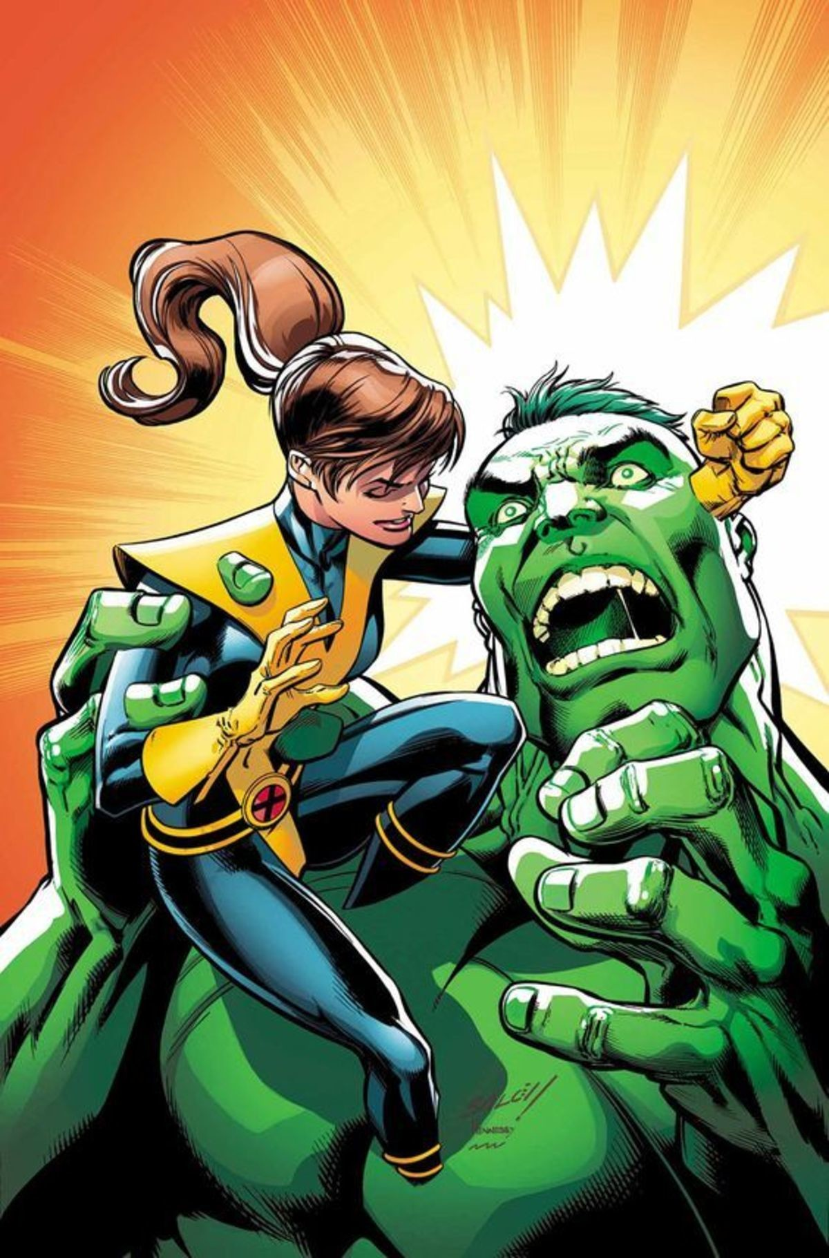 www. .. ah yes, the Doc Green Hulk, the one that came closest to becoming The Maestro. and that is not a good thing. Just as smart as Banner, if not a little more, and