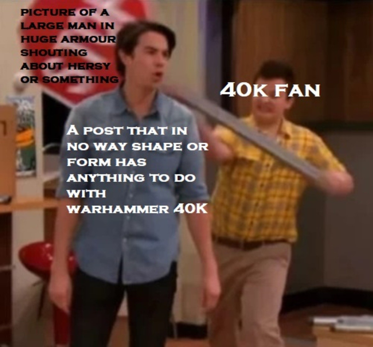 Y u do Dis?. Sometimes I forget Warhammer 40K is a game and not some strange religion invented by people who like big Armour... and now you know how i feel about jojo
