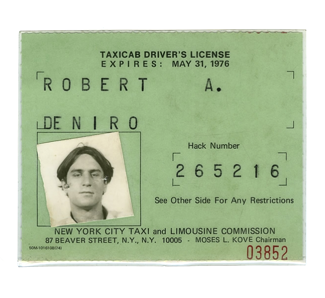 Yes he was a taxi driver!. .. method.