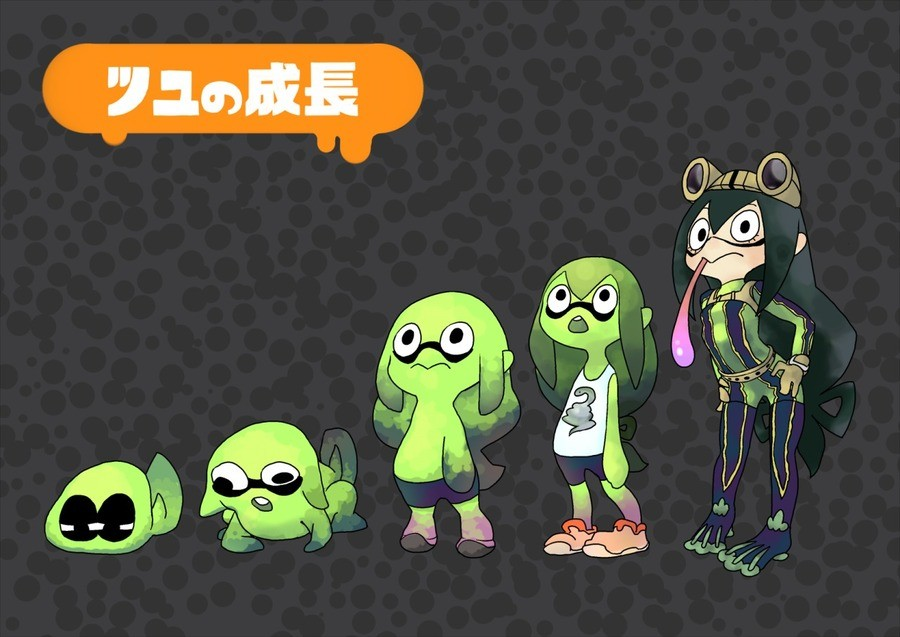 Your Kid Your Squid Your A Hero Now!. Had these laying around, so I decided to show'em off! Last pic is a bonus! join list: altanimecomps (164 subs)Mention Hist