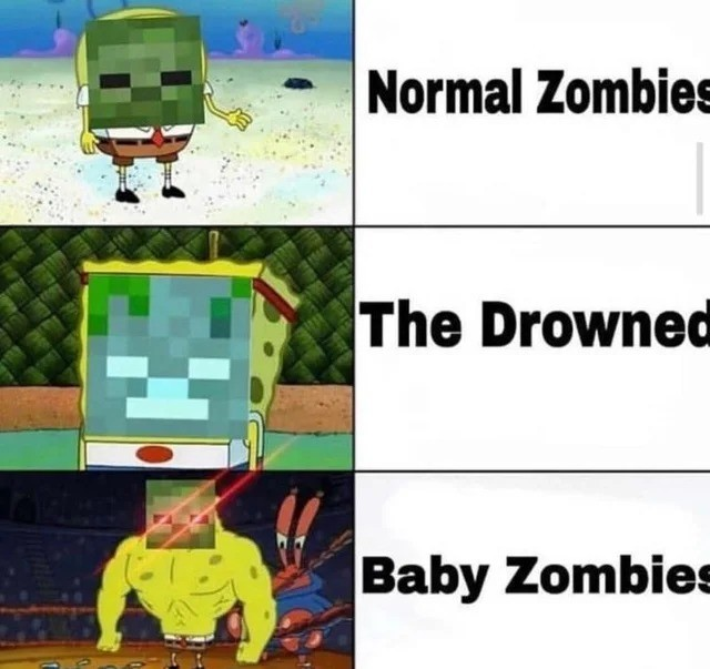 zom. .. >forgetting about Baby Drowned