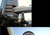 Highway Through Building in Japan