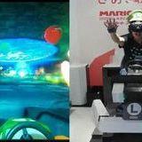 Super mario kart in VR