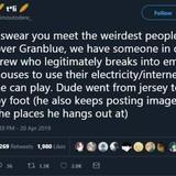 Granblue fantasy has a weird community.