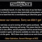Battlefront 2 Microtransactions are gone... for now (it seems)