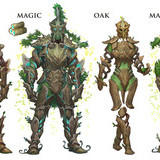Wood armor, use for elves or some dumb ----.