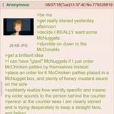 Anon orders McNuggets