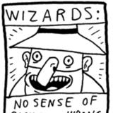 Wizards without sense