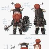 small dwarf warrior