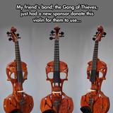 Cool ass violin
