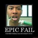 Toothpaste Fail