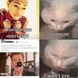 Promise you wont cry?
