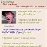 Anon gets the Pauls